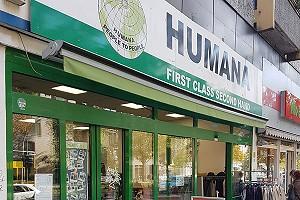 Ladenansicht für »HUMANA Berlin-Schöneberg«
