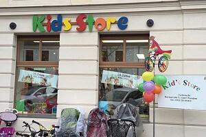 Ladenansicht für »Kids Store«
