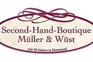 Ladenansicht für »Second-Hand-Boutique Müller & Wüst«