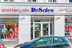 Ladenansicht für »ReSales München-Au-Haidhausen«