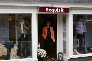 Ladenansicht für »Exquisit«