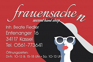 Ladenansicht für »Frauensache - Second Hand Boutique Kassel«