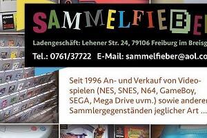 Ladenansicht für »Sammelfieber Freiburg«